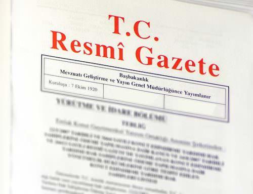 Marka Vekilleri ve Patent Vekilleri Meslek Kuralları ve Disiplin Yönetmeliği Resmi Gazete'de Yayımlandı